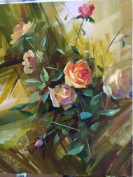 Розы 50х40