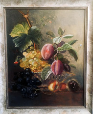 Копия работы Натюрморт с виноградом и сл
