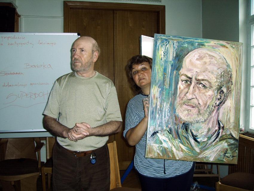 Писсатель Юрий Дружников Варшава, 2005