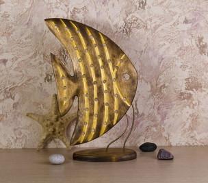 Скалярия с золотыми полосками