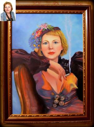 Андреева Мария. Портрет на заказ. Дама.jpg