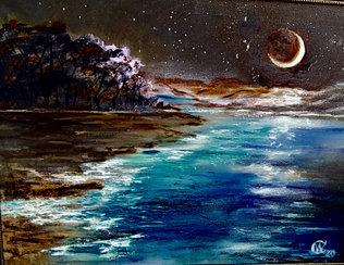 Притяжение луны