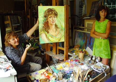 Я тебя рисую. Портретотерапия Натальи Баженовой.