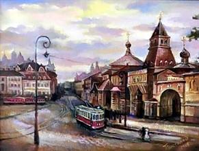 Старая Москва, 30х40, холст, масло - 5.j
