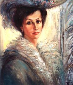 Зимний портрет, 1998, х.м., 80х60.jpg