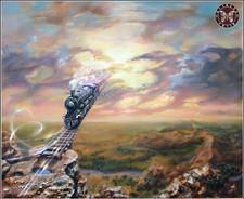 Путь Гитариста, 60х50, холст, масло- (Живопись – 40 тыс.руб., жикле - от 15 т.р в зависимости от размера).jpg