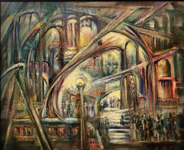 В лабиринтах города