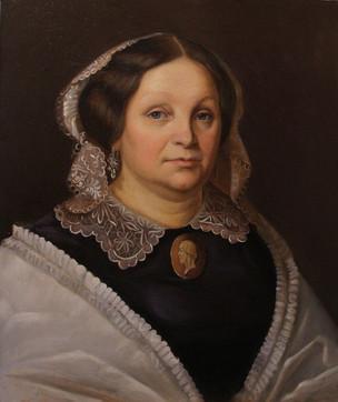 Портрет знатной дамы