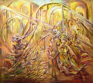 Золотой замок, 2008, х.м., 90х100.JPG