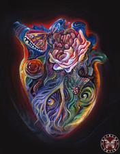 Сердце - Павлиний Глаз. 30х40, холст, масло - 25 тыс.руб (жикле от 12 т.р. в зависимости от размера).jpg