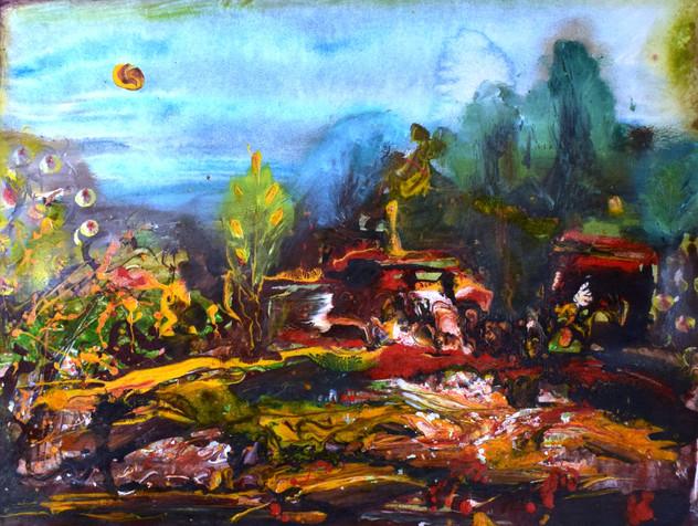 В долине Роман-Кош