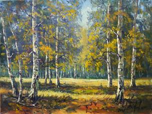 Евстюгов Владимир. В берёзовом лесу. х.м. 40х30см - 7.JPG
