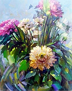 Летние цветы 50х40 холст, масло.jpg
