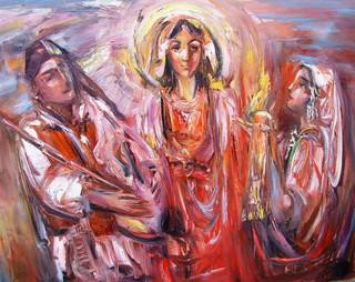 Македонская мелодия, 2008, х.м., 80х100.