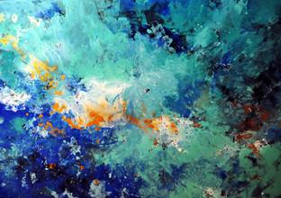 Абстракция Море внутри.