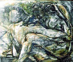 Сплетение страстей, 2007, б. акв, 50х60.