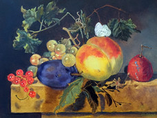 Копия работы Натюрморт с фруктами, Ян ва