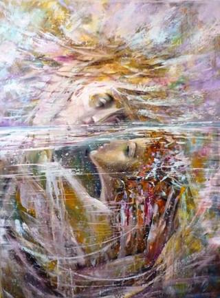 Дочь морского царя, 2007, х.м., 80х60.jp