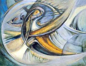 Существо, 2001, х.м., 60х70.jpg