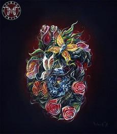 Сердце Сад. 60х50, холст, масло - (Живопись – 25 тыс.руб., жикле - от 12 т.р в зависимости от размера).jpg