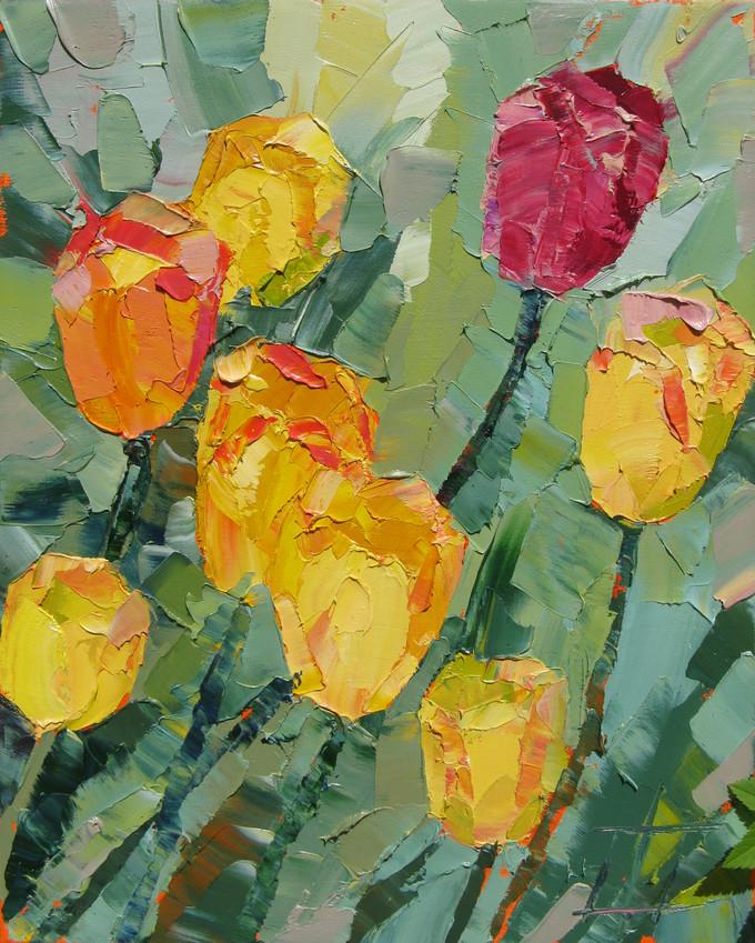 Солнечные тюльпаны 40х30.jpg