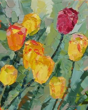 Солнечные тюльпаны 40х30.jpg.jpg