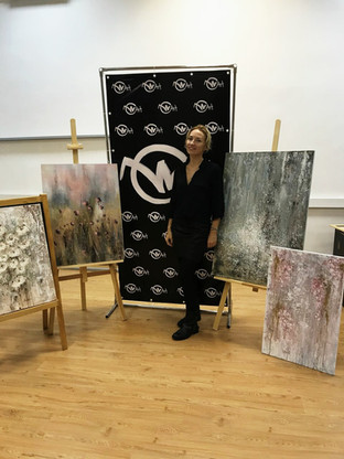 Ирина и ее новые работы. Декабрь 2017
