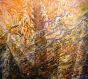 Древо Познания, 100х120, х.м., 2011 - ко