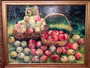 Яблочный спас, холст, масло, 60х90 – 25 тысяч рублей.JPG
