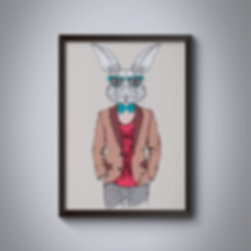 Cuadro-Conejo-hipster2-(50x70).png