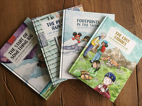 The Hardback Collection (4 Books)