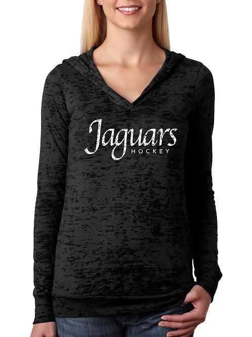 WOMEN'S Jaguar Burnout Hoody