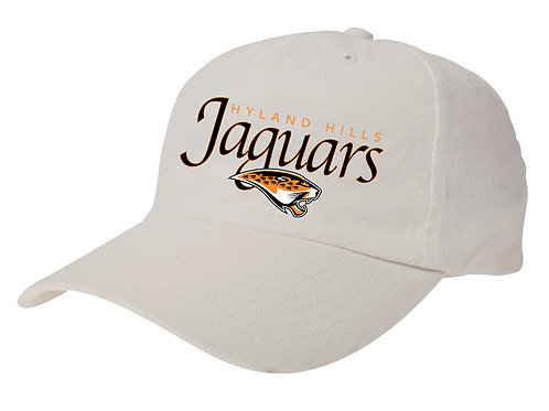 WOMEN'S Jaguar Script Brushed Twill Unstructured Cap
