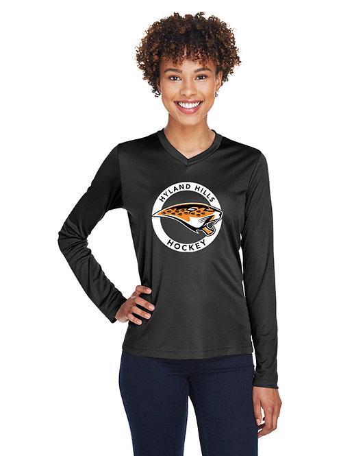 WOMEN'S Jaguar Circle Performance T-shirt