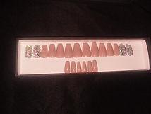 Press On Nails- Latte