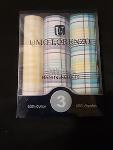 Plaid Handkerchiefs