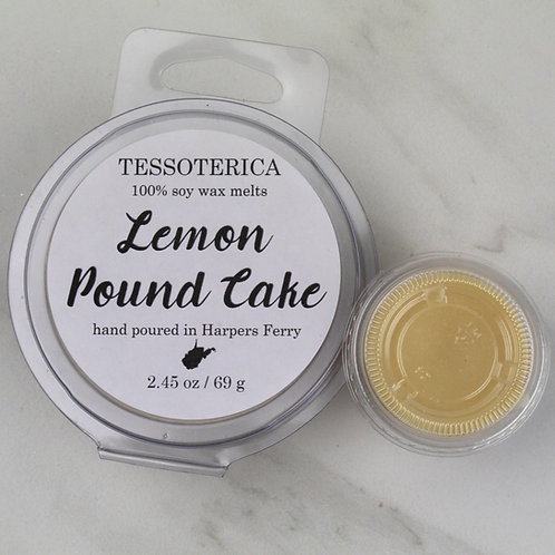 Lemon Pound Cake soy melts