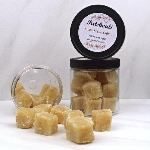 Patchouli scrub cubes