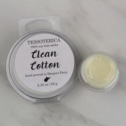 Clean Cotton soy melts