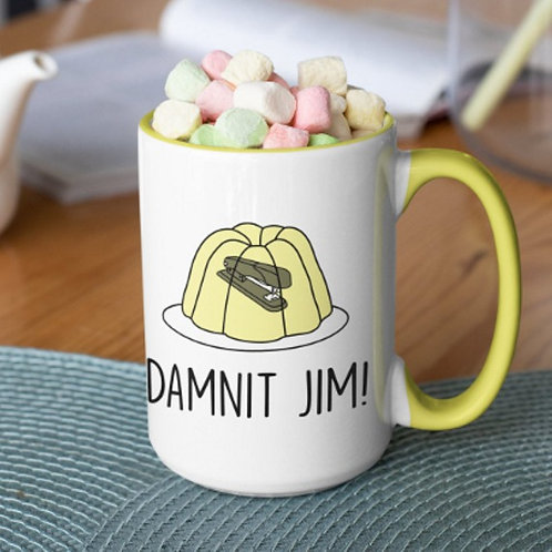 Damnit Jim! 15 oz mug