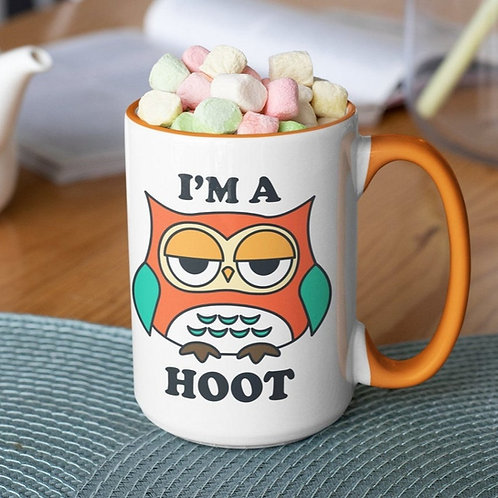 I'm A Hoot 15 oz mug