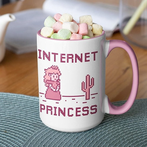 Internet Princess 15 oz mug