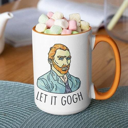 Let it Gogh 15 oz mug