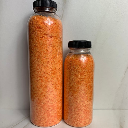 Orange Spice bubbling bath salts