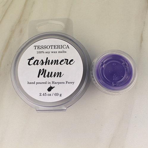 Cashmere Plum wax melts