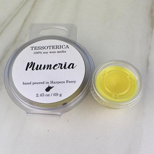 Plumeria wax melts