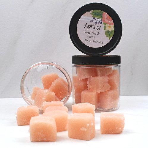 Apricot scrub cubes