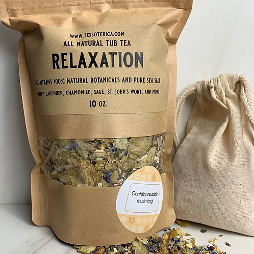Relaxation tub tea