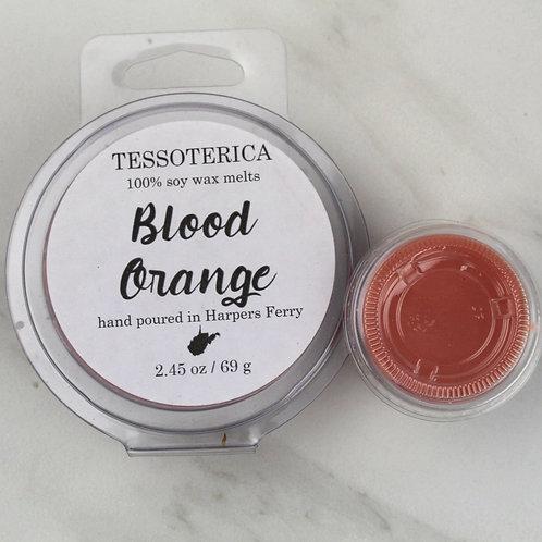 Blood Orange soy melts