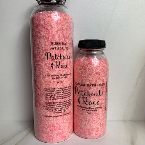 copy of English Garden bubbling bath salt